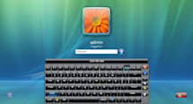 Hot Virtual Keyboard for Windows 7 is hot, virtual, multitouch