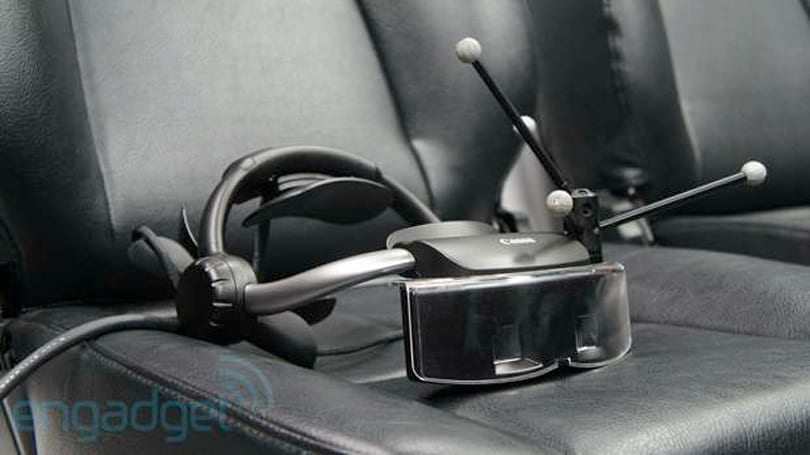 Canon MREAL Mixed Reality headset hands-on (video)