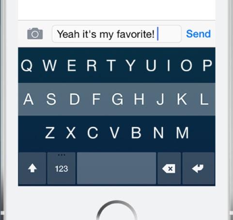 Fleksy is a snazzy alternative keyboard for iOS 8