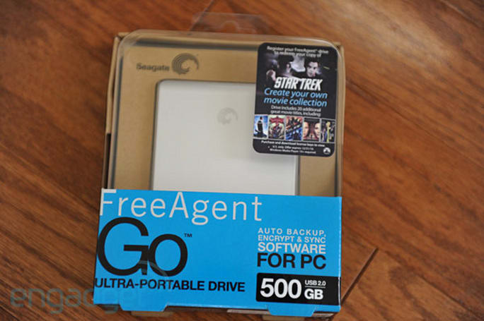 Seagate teams with Paramount, pre-loads movies onto 500GB FreeAgent Go