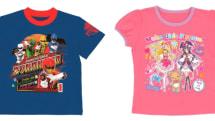 スマホで撮ると戦隊ヒーローやプリキュアが飛び出す。キャラと遊べる子供用Tシャツがバンダイから発売