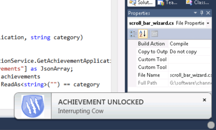 Microsoft put games in your code so you can game while you code games