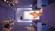 Kohler VibrAcoustic baths bombard your senses with light and sound to drown out stress