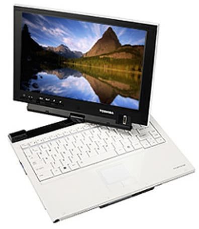 Toshiba's Portege R400 convertible goes on sale