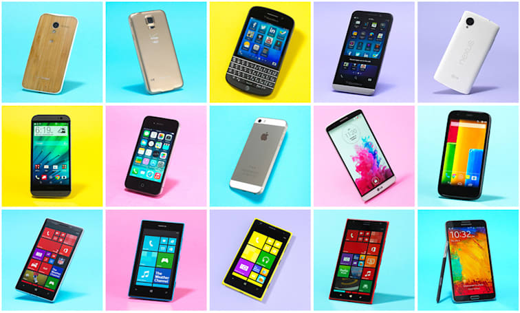 The top 15 smartphones you can buy right now