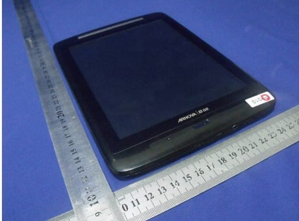 Archos Arnova 8 G2 tablet makes FCC appearance, gets friendly with metal yardsticks