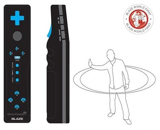 Blaze announces 'Wii style' Motion Freedom 3D controller for PS3, really