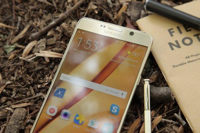 Samsung fixes the Galaxy Note 5's backwards pen problem