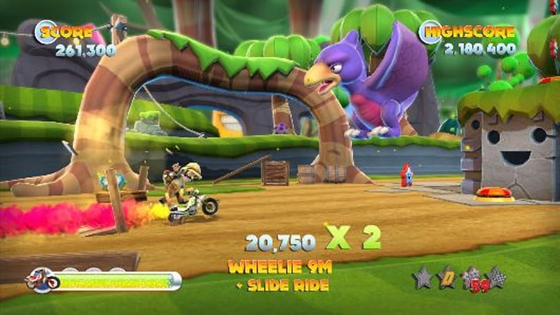 Joe Danger 2 - The Movie review: High-ish voltage