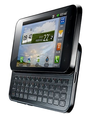 LG unveils Optimus Q2 QWERTY slider, slated for Korean launch next week