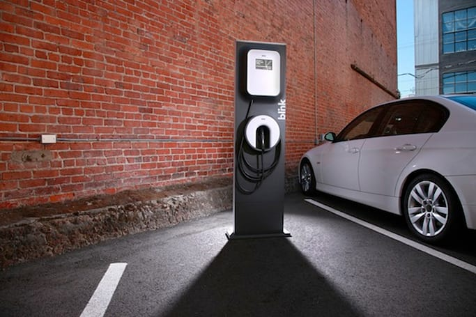 ECOtality teams with Sprint to connect Blink EV charging network