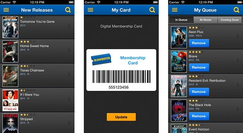 Blockbuster 2.0 for iOS arrives, manages the disc rentals we no longer use