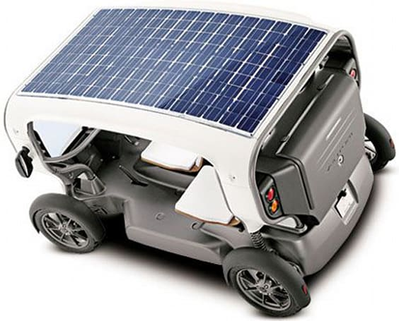 Venturi readies the launch of its solar / wind-powered Eclectic vehicle