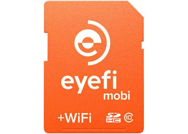 Eyefi's new service sends your camera's photos to the cloud as soon as you shoot
