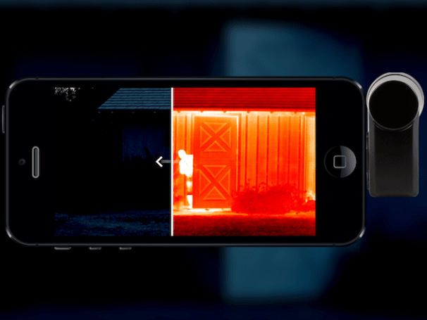 Bring thermal vision to your phone with this camera add-on