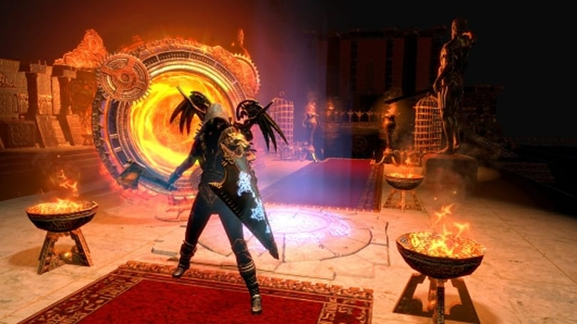 Path of Exile shows off a prototype Grandmaster battle