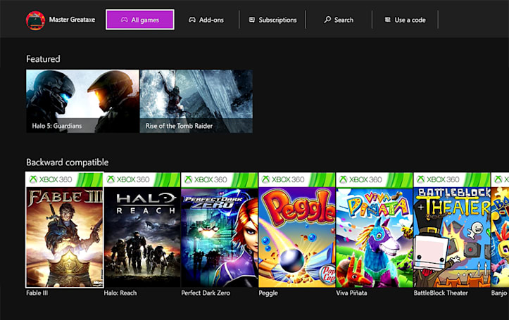 You are now free to buy Xbox 360 games on your Xbox One