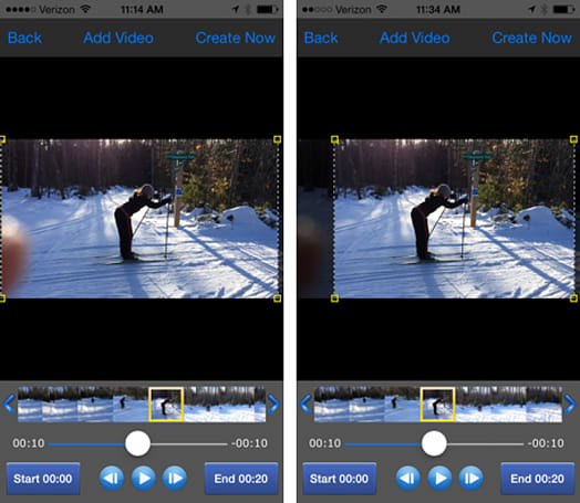 How to remove fingers and other errant objects from iPhone videos using Crop Video