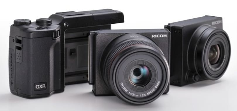 Ricoh GXR will swap out lenses with Leica M mount, make Micro Four Thirds mildly jealous