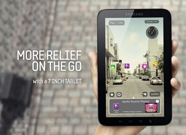 The Samsung Galaxy Tab: more relief on the go