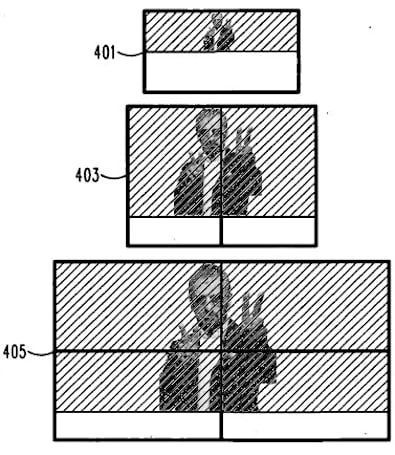 Motorola patent combines multiple devices to make one large display