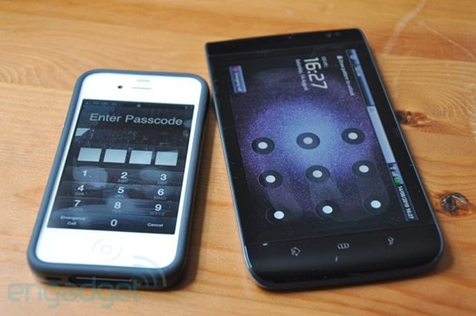 Shocker: Touchscreen smudge may give away your Android password pattern