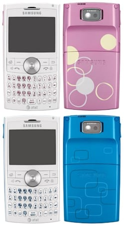 Samsung BlackJack II now available in pink and blue