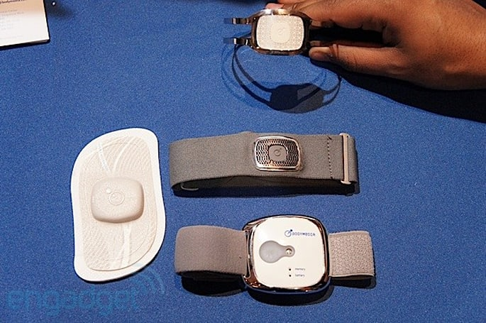BodyMedia CORE 2 armband and View patch health monitors hands-on