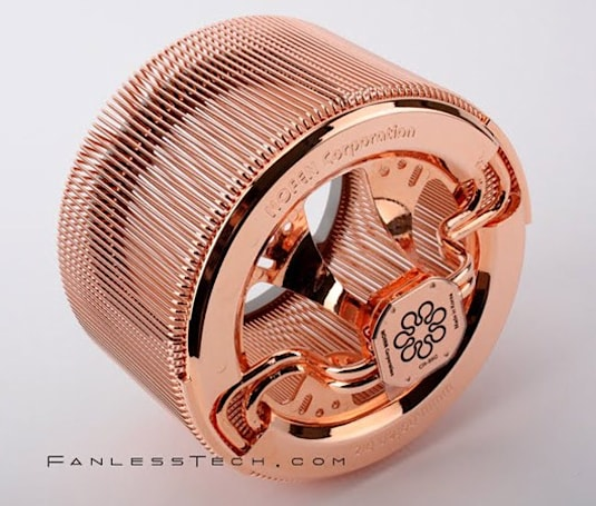 The NOFAN CR-95C: a fanless copper CPU cooler for your next-gen build