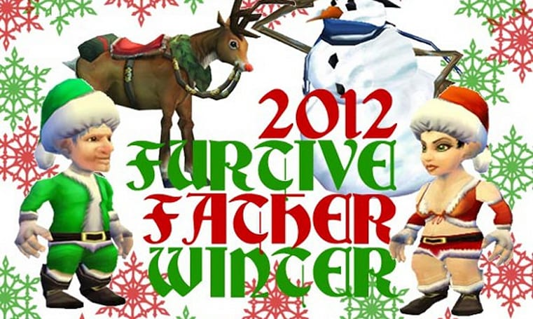 Blog Azeroth's Furtive Father Winter gift exchange begins