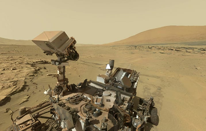 Curiosity finds evidence of life-giving nitrates in Mars rocks