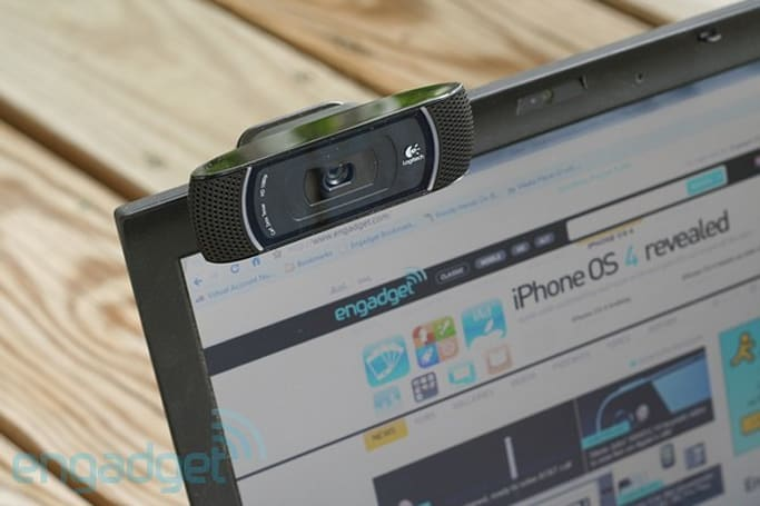 Logitech launches four HD webcams, we preview the 1080p C910