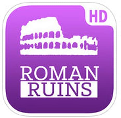 Roman Ruins HD for iPad is a terrific way to explore ancient Rome