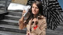 These boots were made for talkin': O2 teams up with artist for 'walkie talkie' footwear