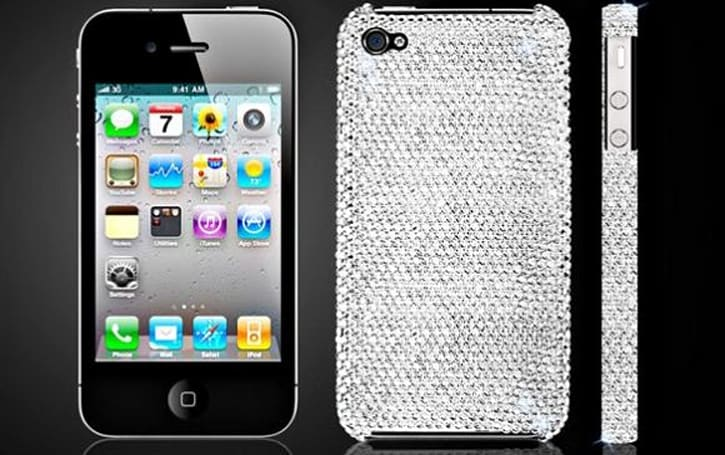 Wrap your iPhone 4 in Swarovski crystals