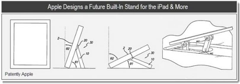 "Apple patents suggest iPad ""kickstand,"" graphics pen"