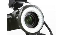 サンワサプライからLED 80灯のカメラ用リングライト200-DGAC001、フラッシュ機能つき