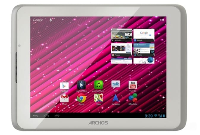 Archos intros Xenon 80 8-inch tablet, delivers Jelly Bean and 3G for $200