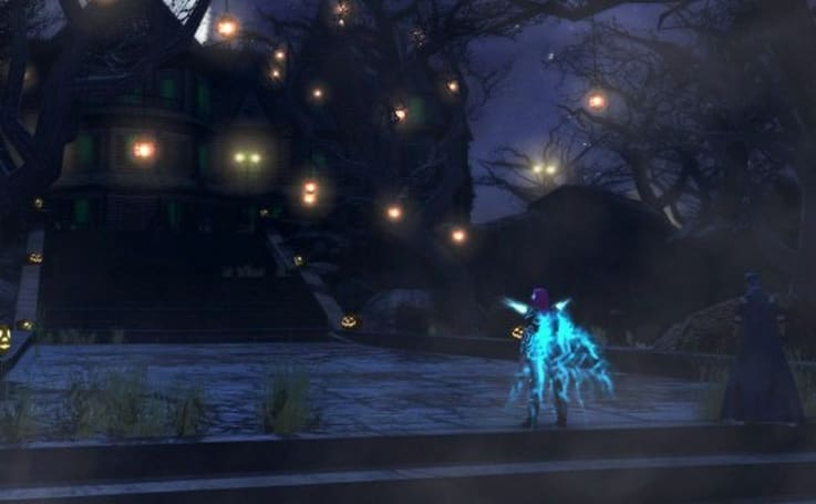 City of Heroes adding a haunted house to the Halloween event