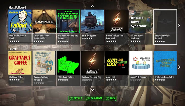 'Fallout 4' gets official mod support on PC