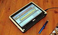 Dell Mini 9 modded into an internet tablet
