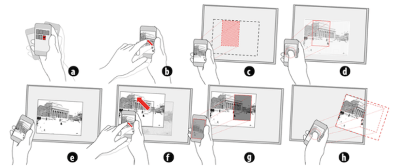 Researchers turn your smartphone into a virtual projector