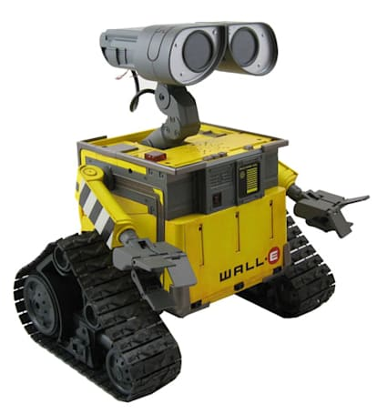 Disney / Thinkway Toys' Ultimate WALL-E robot cleans up on camera
