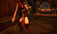 How to transmogrify your clothie into High Inquisitor Whitemane