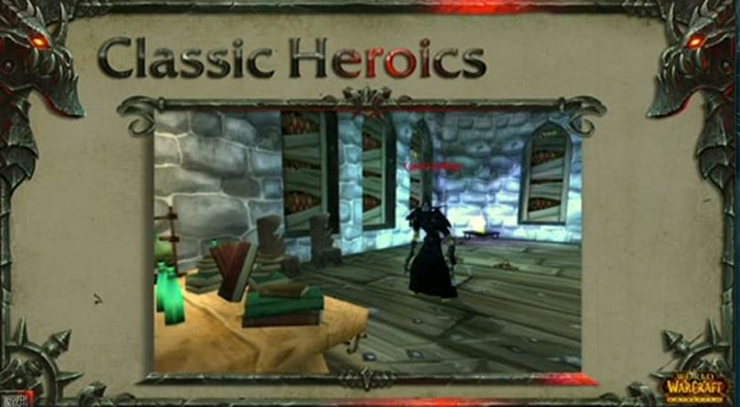BlizzCon 2010: Classic dungeon changes in patch 4.1