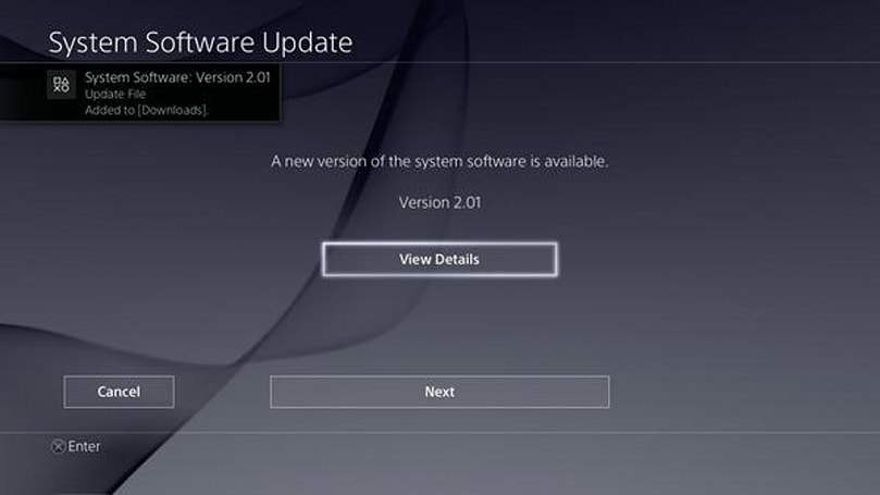 PS4 2.01 firmware rolling out, aims to fix Rest Mode issues