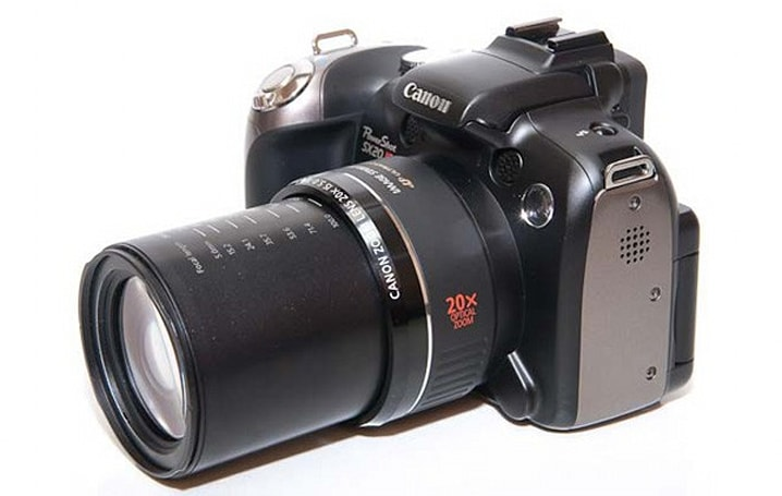 Canon's PowerShot SX20 IS superzoom gets superreviewed