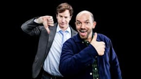 "Rob Huebel And Paul Scheer Discuss Their go90 Series, ""Drive Share"""