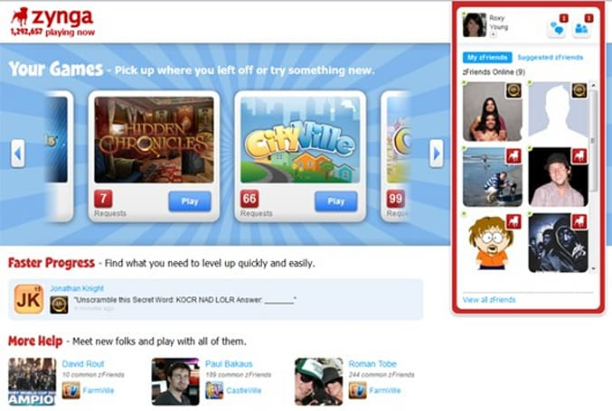 Zynga Platform launches in open beta
