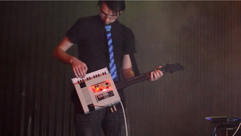 This cover of the 'Game of Thrones' theme was made with an NESkeytar